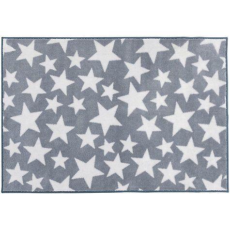 buy kit for kids star baby rug grey online at johnlewiscom - Baby Boy Room Rugs