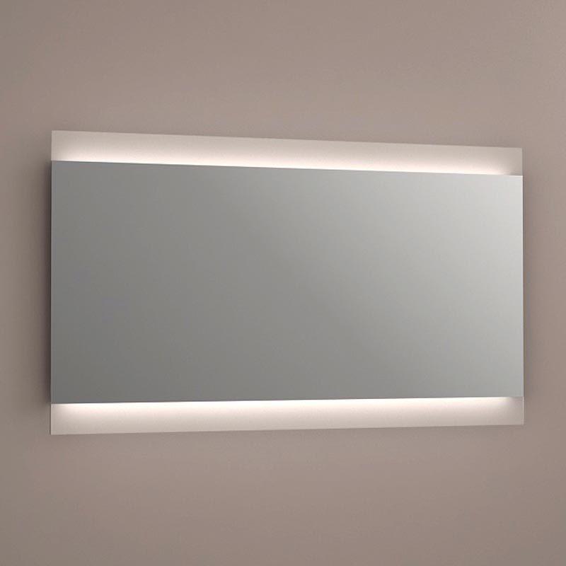 miroir lumineux led salle de bain, anti-buée, 120x70 cm, idlight