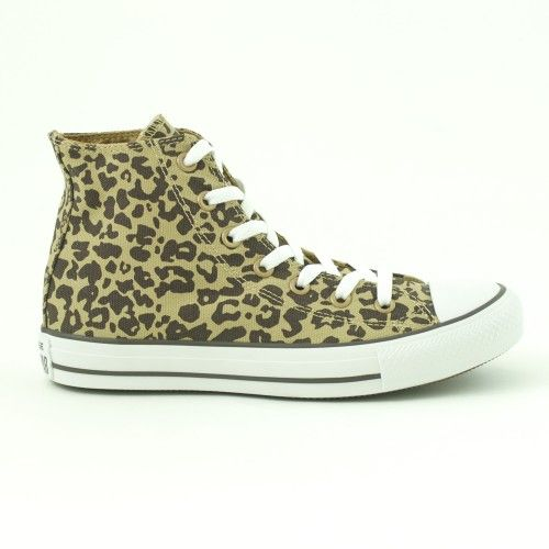 Converse All Star High Donna Alte Tan