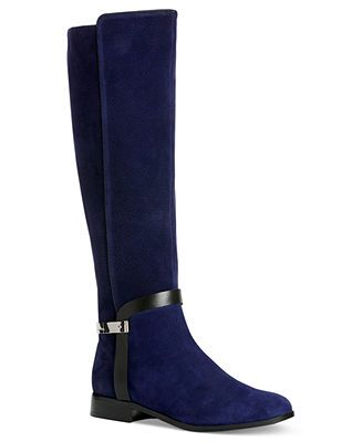 Women's Macy's Klein Riding Shoes Calvin Randa Boots O80Pnwk