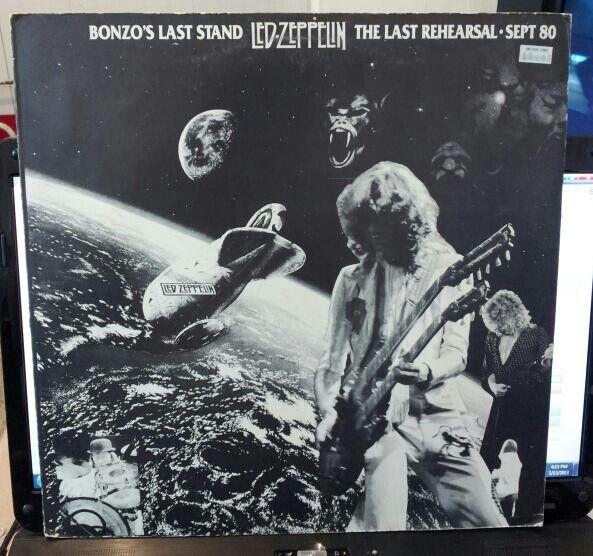 Rare Led Zeppelin rehearsal bootleg