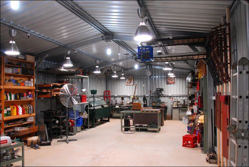 Workshop LED Lighting - by redSLED @ LumberJocks.com ~ woodworking community & Workshop LED Lighting - by redSLED @ LumberJocks.com ~ woodworking ...