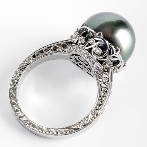 Michael Beaudry Pearl Ring Jewelry Accessories Pinterest Rings Pearls And