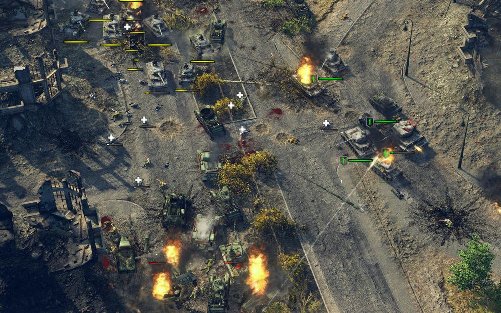 Sudden Strike 4 game blasts onto the Mac Real time