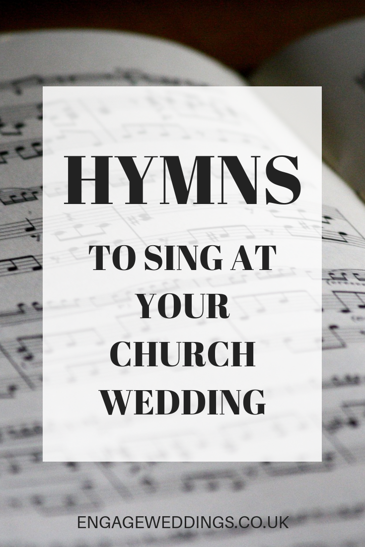 Hymns to Sing at Your Church Wedding Wedding ceremony