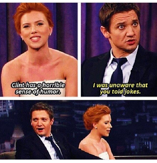 Jeremy and Scarlett