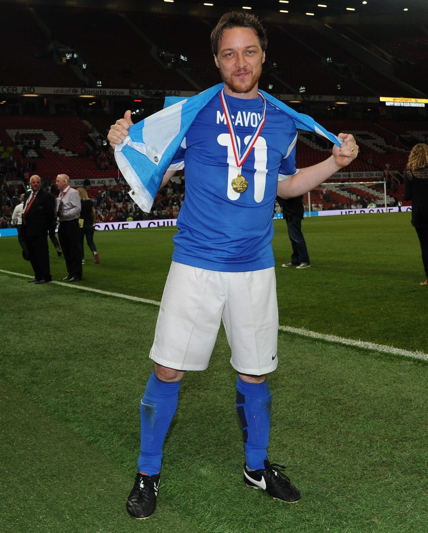 Pin By Just Another Fangirl On James Mcavoy In 2020 James Mcavoy Soccer Aid Liam Hemsworth