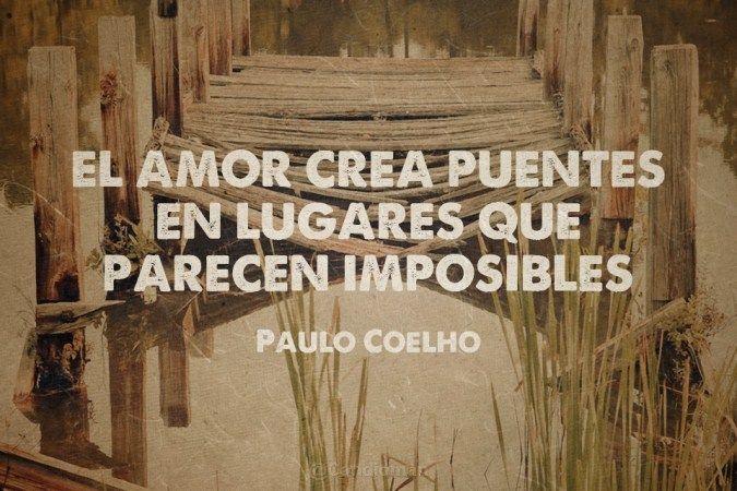 El Amor Crea Puentes En Lugares Que Parecen Imposibles