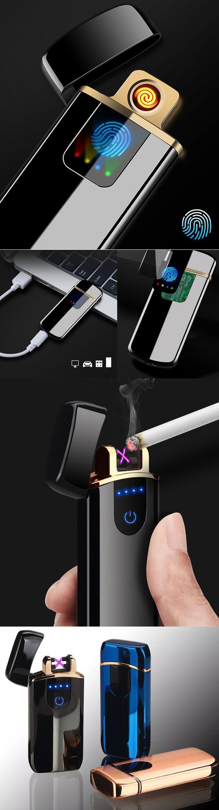 Wiederaufladbarer Flammenloser Zigarettenanzunder Zigarette Usb Zigarettenanzunder