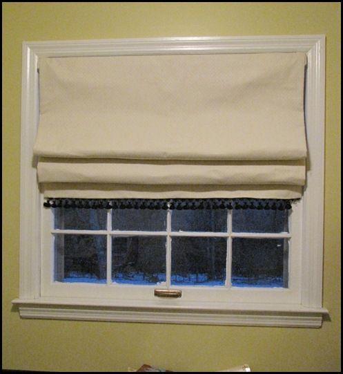 No Sew Roman Shade Roman Shades Diy Roman Shades Diy Curtains