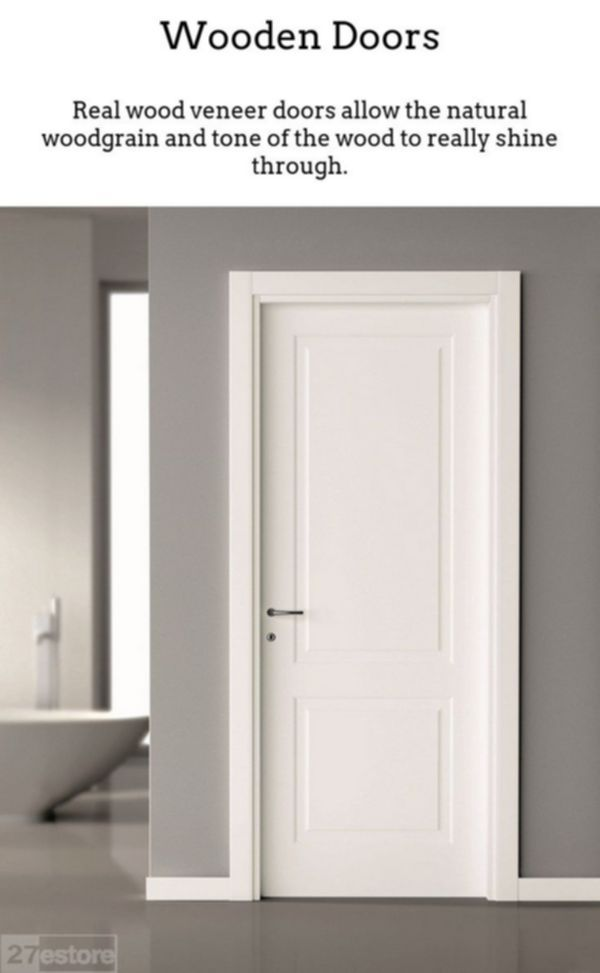 Photo of Wooden Doors. Timber doors are fantastic if you reside in a period property, or …