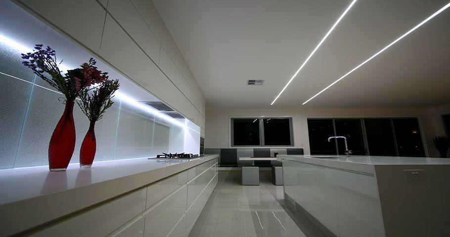 LED ceiling lights kitchen - Hledat Googlem & LED ceiling lights kitchen - Hledat Googlem | Kuchyn? | Pinterest ... azcodes.com