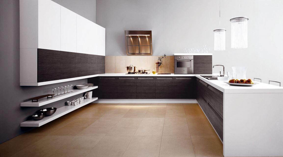 Beste Küchenentwürfe, Ideen Für Die Küche, Minimalistische Moderne Küchen,  Küchen Modern, U Förmige Küchen, Europäische Küchen, Braune Küchen