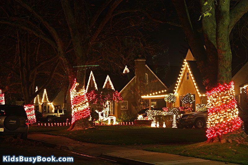 The Fabulous 40 S Sacramento Christmas Lights In