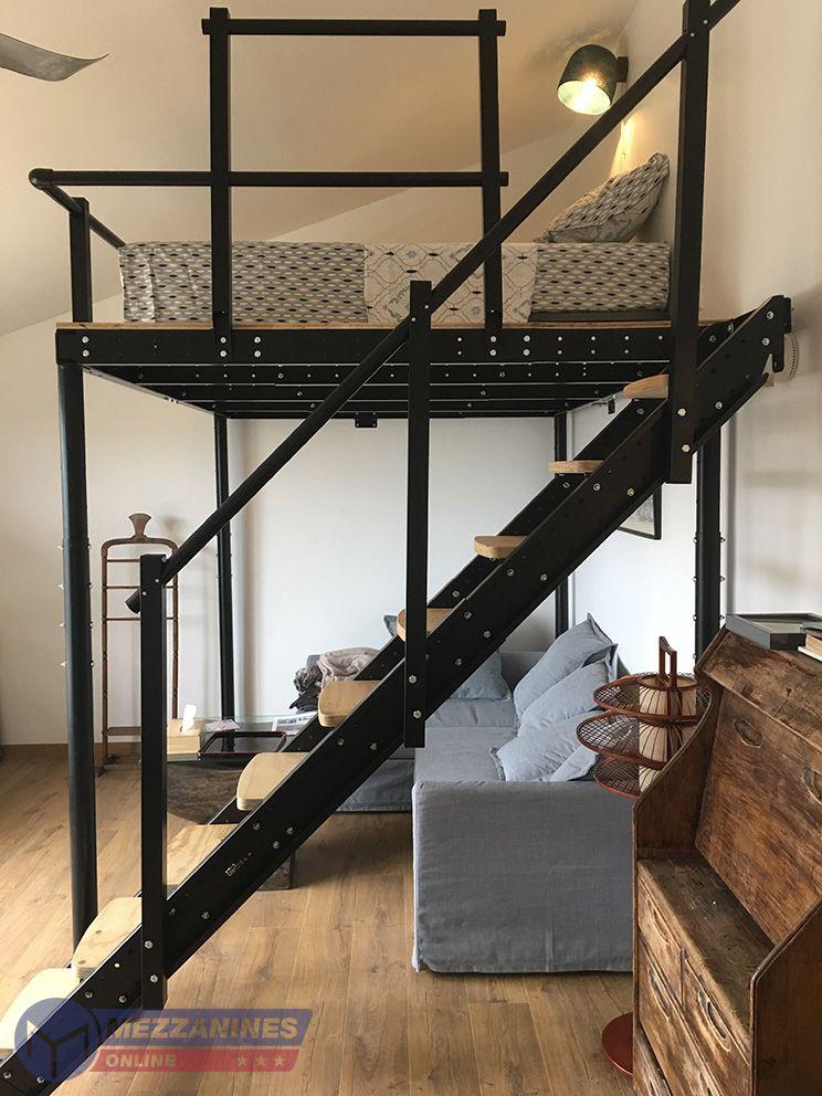 Ts 4 Mezzanine In 2020 Tiny House Design Mini Loft Mezzanine