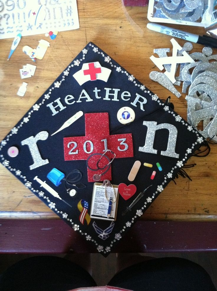 Nursing Graduation Cap Decoration Ideas Elitflat
