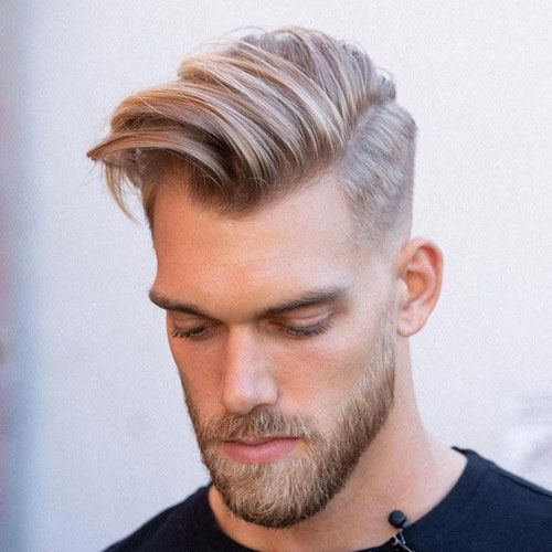 31+ Side swept mens hairstyles ideas