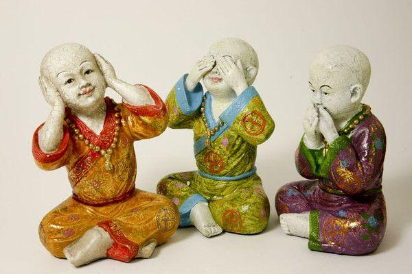 Kindermonniken, horen, zien en zwijgen* bij Crystal Temptation in Venlo