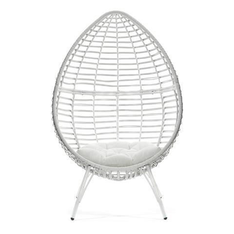 Stupendous Teardrop Wicker Chair Home Co Chair Wicker Chairs Wicker Creativecarmelina Interior Chair Design Creativecarmelinacom