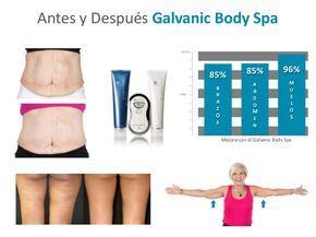 Resultado de imagen para galvanic body spa antes y despues