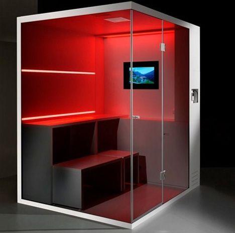 Light Heat Color Steam Self Contained Wellness Center Designs