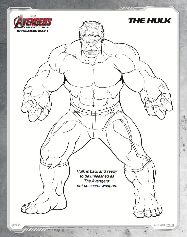 Free Printable Avengers Age Of Ultron Coloring Sheets Hispana Global Avengers Coloring Superhero Coloring Pages Avengers Coloring Pages