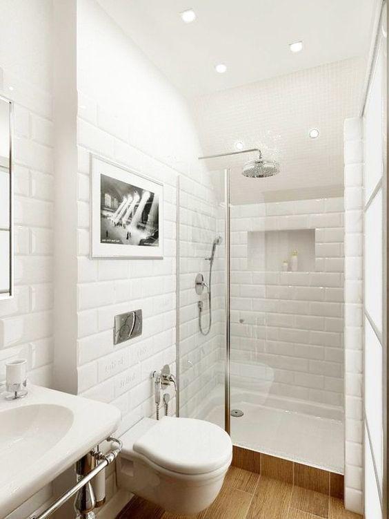 comment am nager une petite salle de bain maison bbc. Black Bedroom Furniture Sets. Home Design Ideas