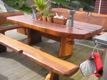 Attirant Redwood Patio Furniture