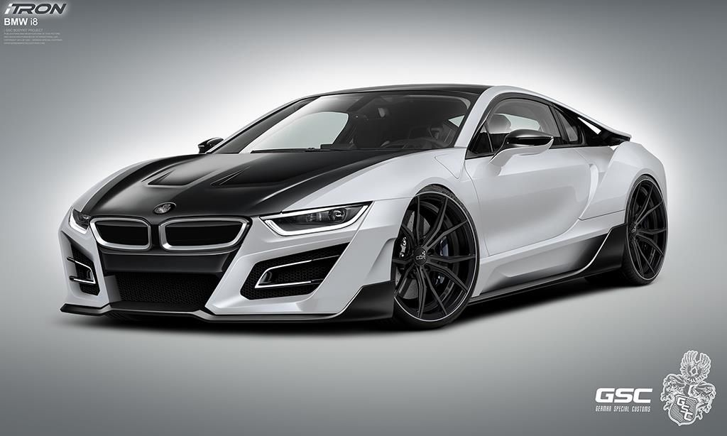 White Bmw I8 Gsc Itron Body Kit By German Special Customs Click To