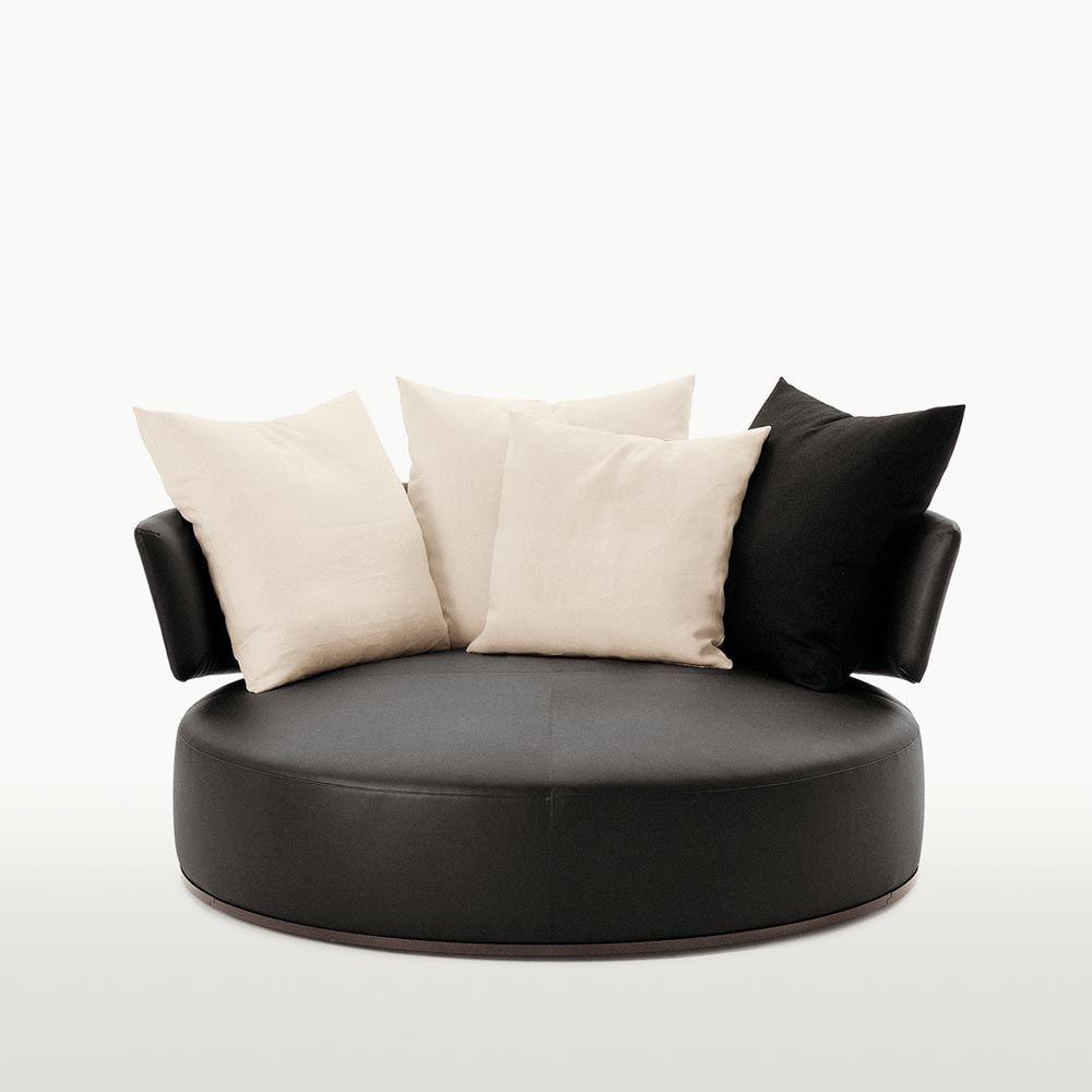 impressionnant fauteuil rond pivotant 2 places. Black Bedroom Furniture Sets. Home Design Ideas