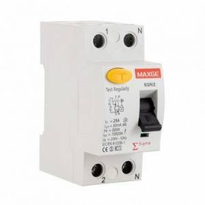 ledkia.com Interrupteur différentiel Industriel 2P-300mA-Clase AC-10kA 25 A