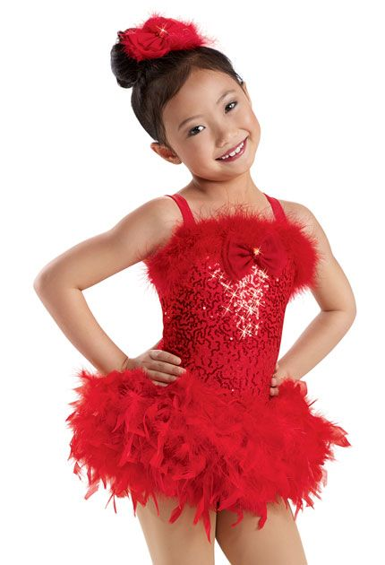 bf5aa0ac91a Feather Trimmed Sequin Leotard -Weissman Costumes Christmas show ...