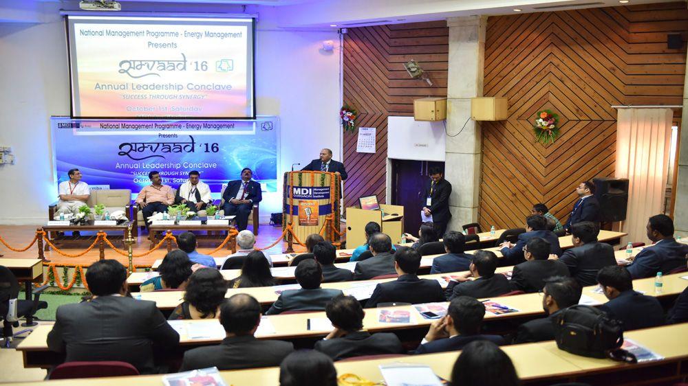 At Samvaad 2016, industry leaders spoke on leadership