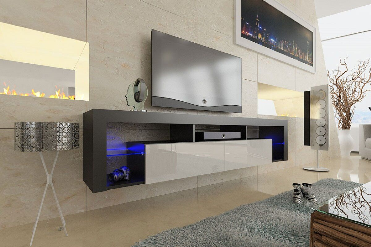 Floating Milano B 246 Ttcher Tv Stand For Tvs Up To 78 Quot Home