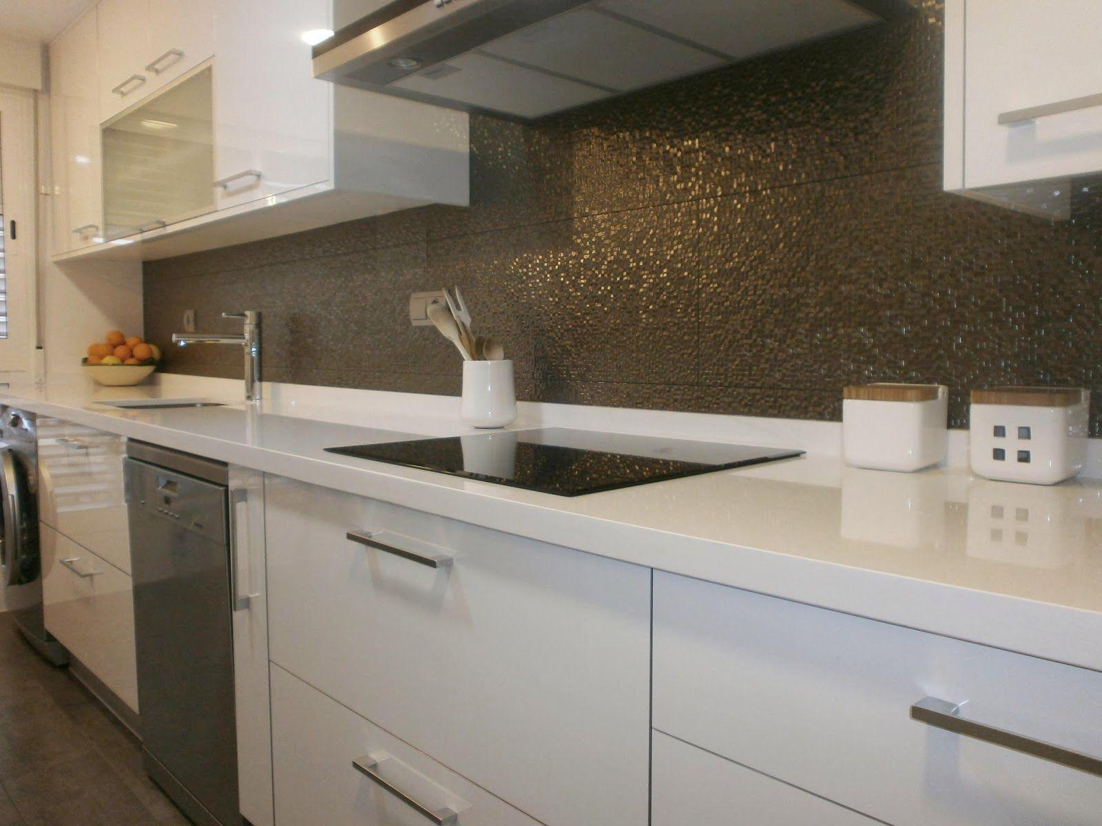 Cocinas lineales cocinas con estilo cocinas pinterest for Cocinas lineales