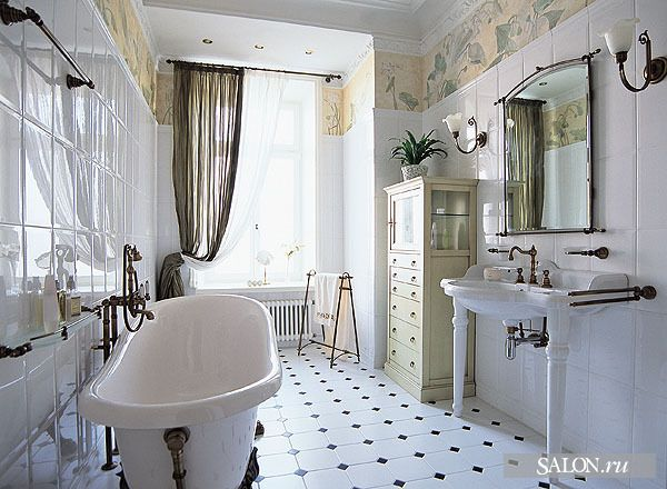 Art nouveau bathroom art nouveau interior and design for Art nouveau bathroom design