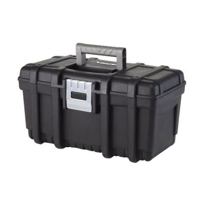 Husky 16 In Plastic Portable Tool Box With Metal Latch 209267 The Home Depot Portable Tool Box Tool Box Portable Tools
