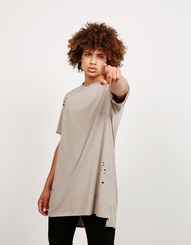 T-shirts - NEW COLLECTION - HOMEM - Bershka Portugal  a8c0fa5d8d3