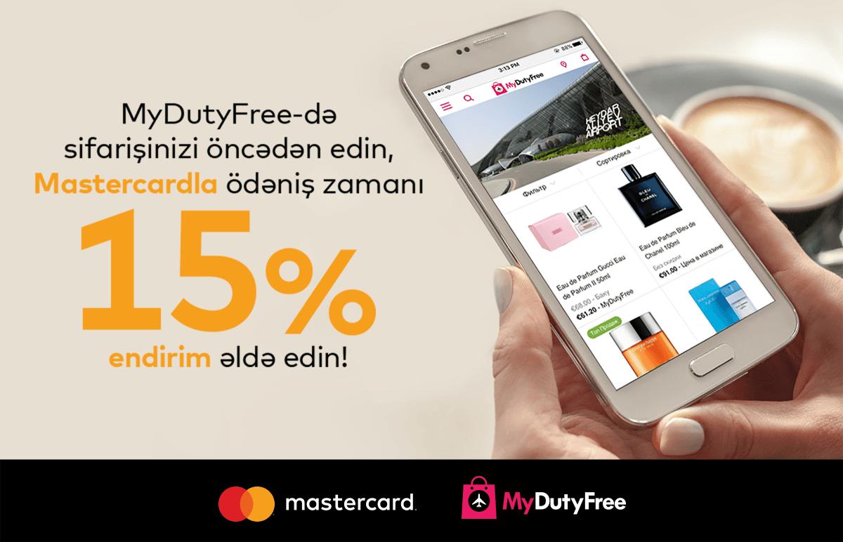 Mastercard və MyDutyFree Bakıda birgə kampaniyaya start