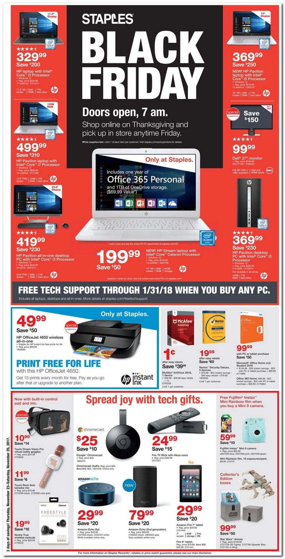 Staples Black Friday 2018 Ads and Deals Browse the Staples
