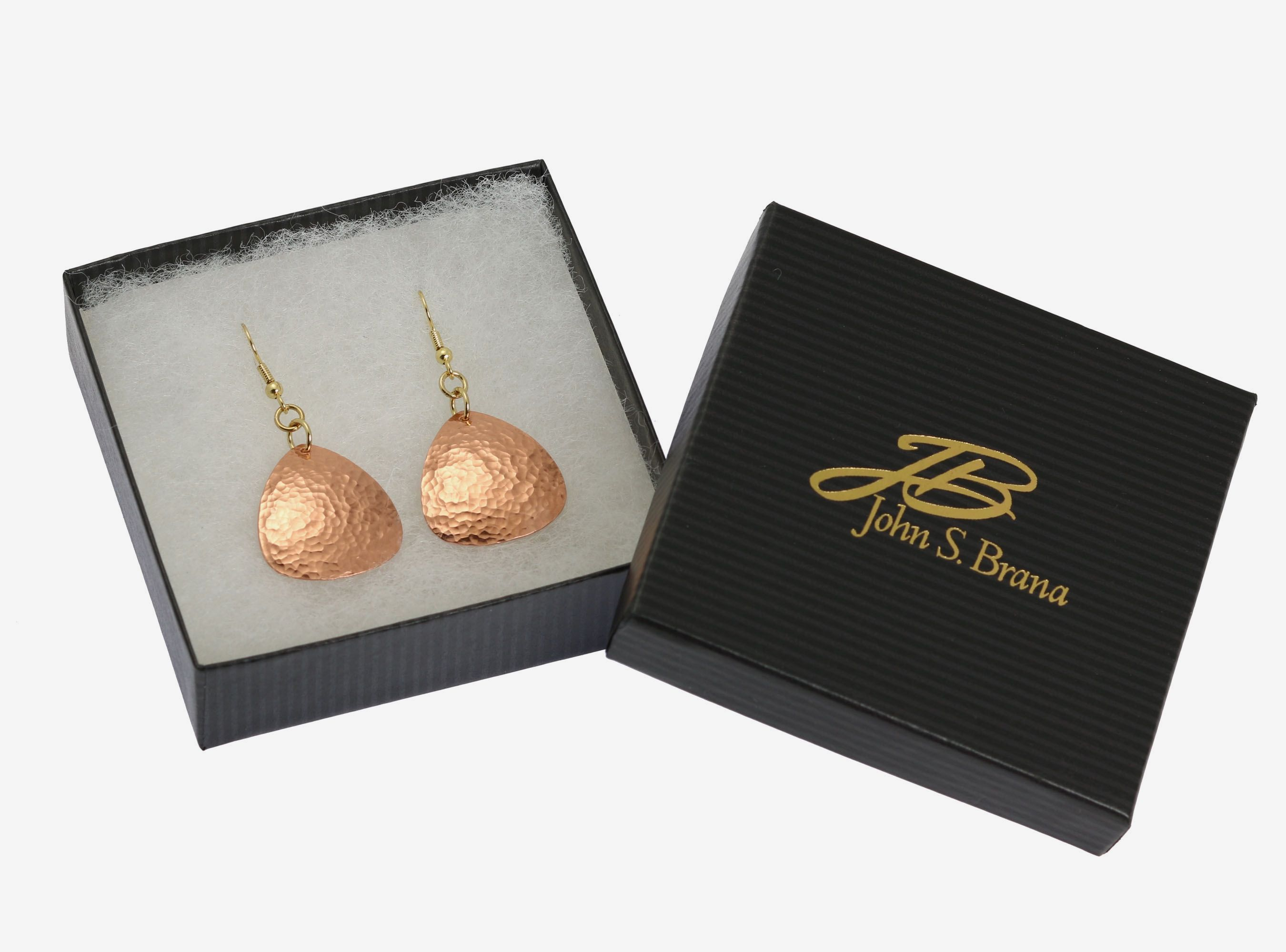 New! Phenomenal Hammered Copper Triangular Drop Earrings Offered on #AmazonPrime #Copper http://www.amazon.com/dp/B01AMU9DZA