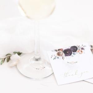 Winter Wedding Favors – Rustic – Boho – Bridal Shower – Bachelorette – Stemware Charms