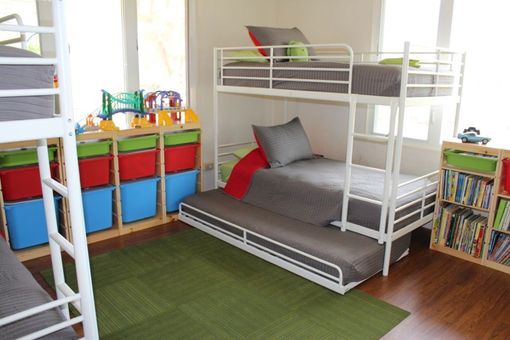 Best How To Fit 6 Kids In One Room On A Budget Bunk Bed With 400 x 300