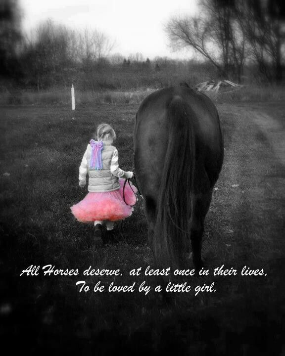 Horses and little girls | things i like | Horses, Horse love