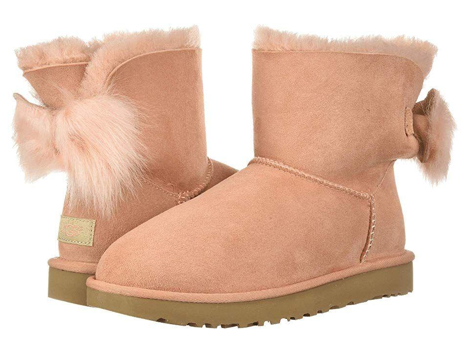 ea7421b48cb UGG Fluff Bow Mini Women's Pull-on Boots Suntan in 2019 | Products ...