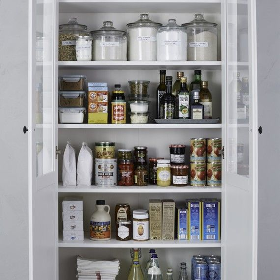 Pantry Labels Martha Stewart: The Right Way To Store Pantry Essentials (Even If You Don