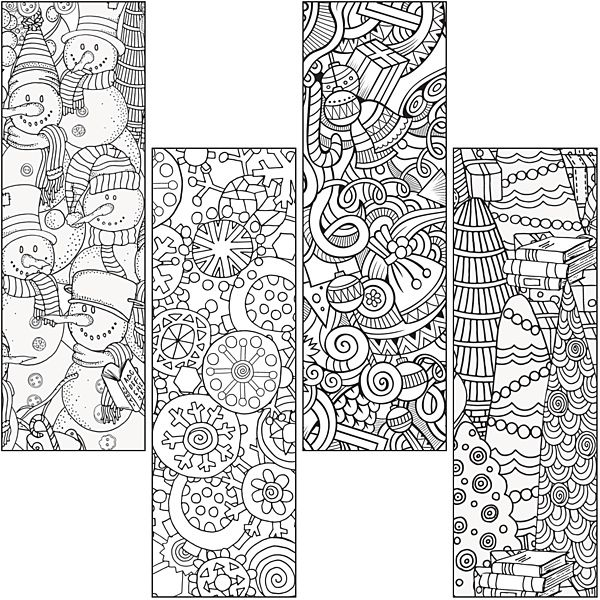 Demco Com Color Craze Winter Bookmarks Coloring Bookmarks Christmas Bookmarks Free Printable Bookmarks