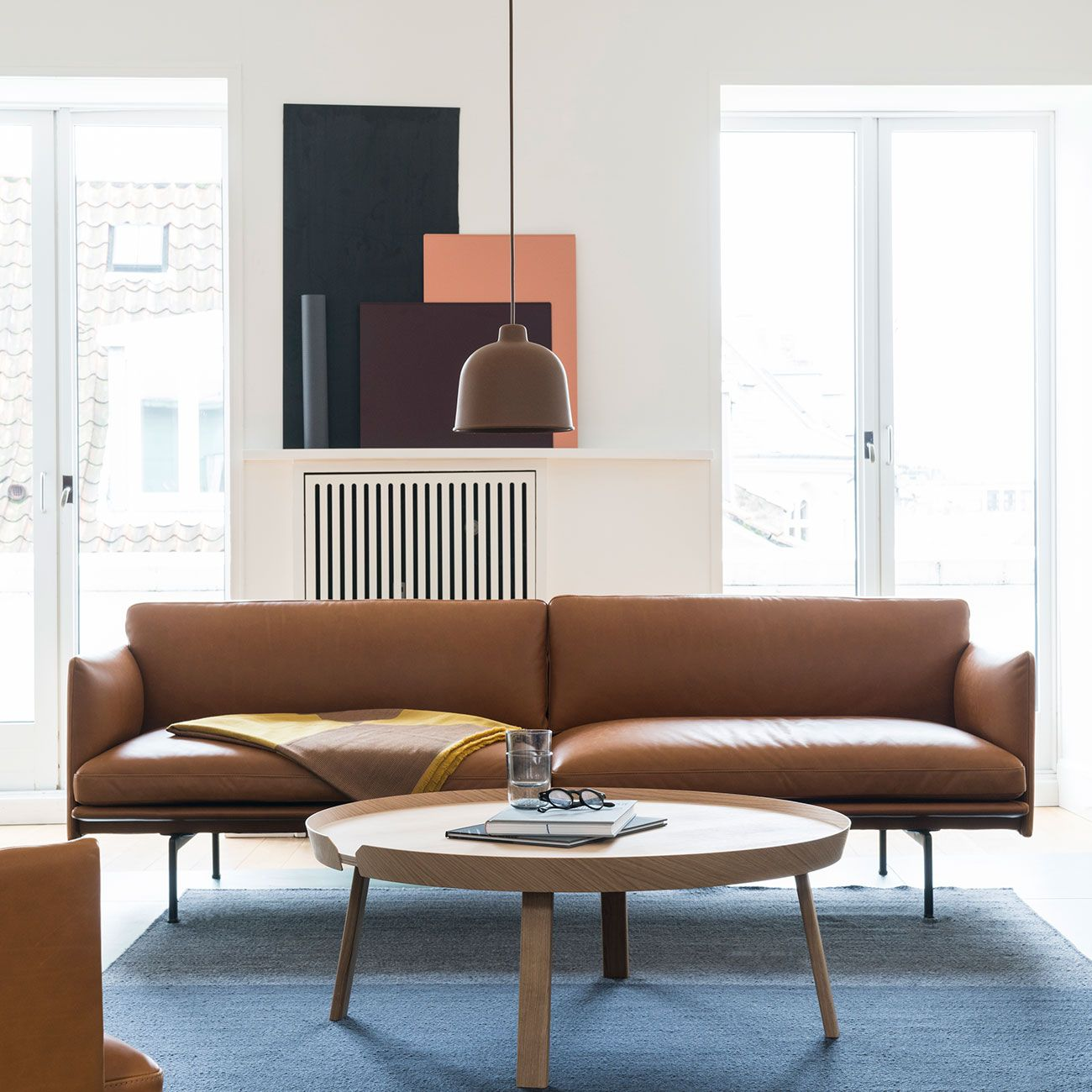 Scandinavian Sofa Interior Inspiration From Muuto The Outline Series Adds New Perspective Bedroom Furniture Design Scandinavian Sofa Design Scandinavian Sofas