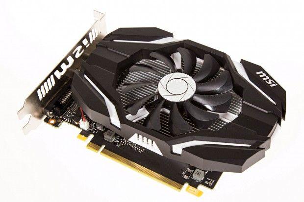 Basis der Geforce GTX 1050 Ti ist der GP107-Chip. Der wird anders als die GPUs der größeren Pascal-Modelle nicht bei der TSMC im 16FF+-Prozess gefertigt, sondern von Samsung im 14LPP-Verfahren. Das verwendet auch AMD für seine Polaris-Grafikkarten wie die Radeon RX 460 und Radeon RX 470.