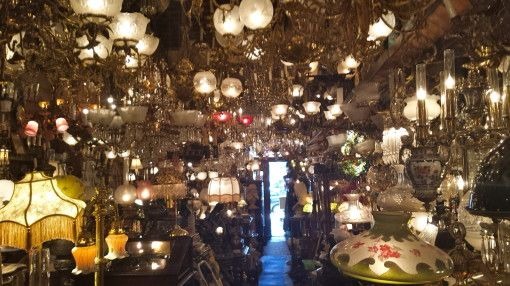 C neris antique lighting store in philadelphia
